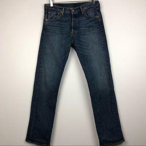 Levi's 501 Medium Wash Jeans Size 30x30